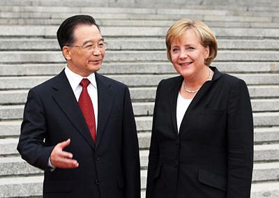 德国总理默克尔访华