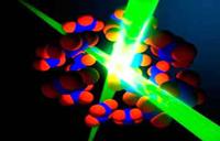 超快激光照射捕捉原子在分子间运动