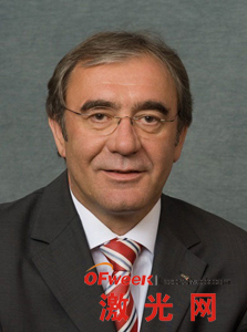 Rofin公司首席执行官Günther Braun