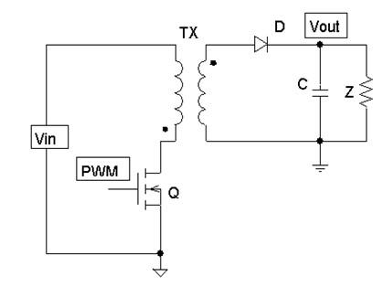 整理电源入门电路(五):flyback电路