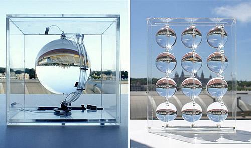 玻璃太阳能发电器 月光也可发电