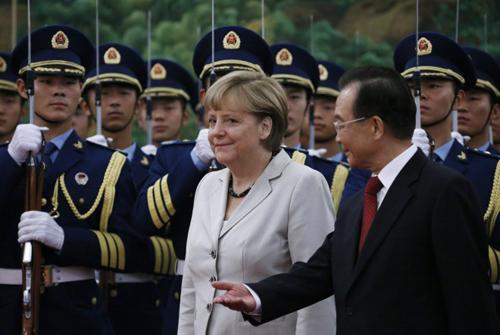 德国总理默多克访华