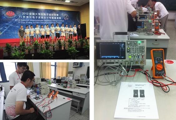 安捷伦助力2012全国大学生电子设计竞赛