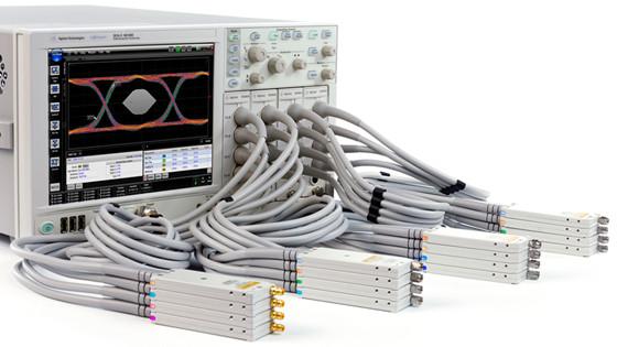 安捷伦发布新型2至16通道60GHz示波器系统