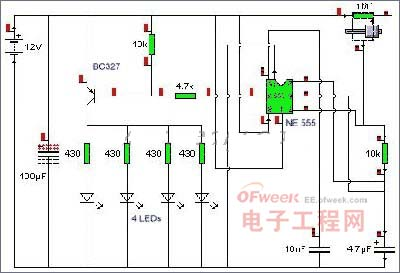 自制LED频闪灯 图2