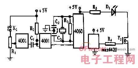 图1 发光二极管的大功率驱动器