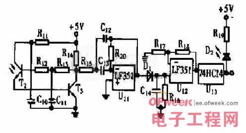 图2 光电接收电路