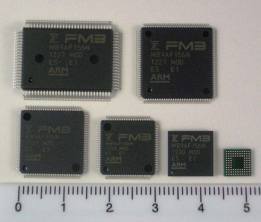 低功耗组: MB9A150R系列