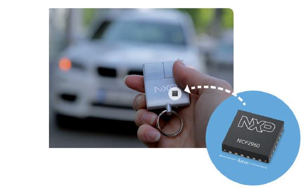 恩智浦发布最小尺寸适用于汽车无钥匙门禁系统的整合型芯片