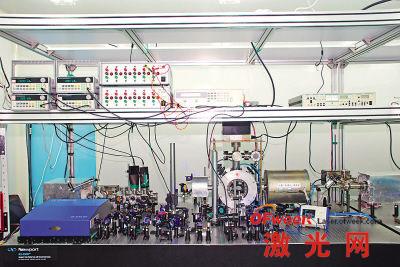 中国科学院国家授时中心锶原子光钟实验室