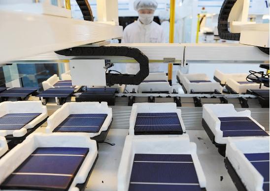 正泰薄膜硅电池生产线