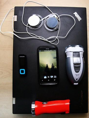 图片故事:大一新生们的电子产品装备