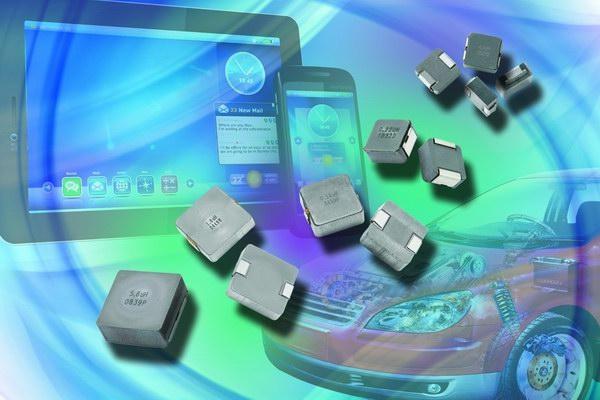 Vishay发布10款温度范围扩展至+155℃的新型IHLP®低高度、高电流电感器