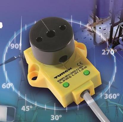 图尔克推出电感式旋转角度传感器