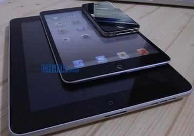 苹果iPad mini或10月5日发布 再爆谍照
