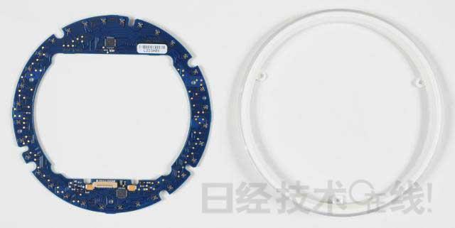 Nexus Q拆解:如何利用32个彩色LED实现光环