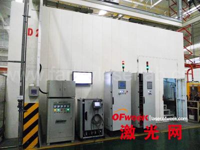 江淮汽车顶盖激光焊接项目总体设备外围