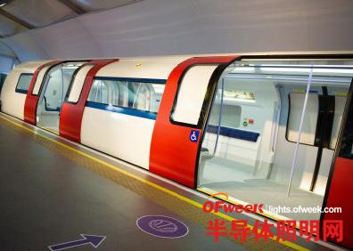 LED照明搭载无人驾驶地铁新列车将驶入伦敦