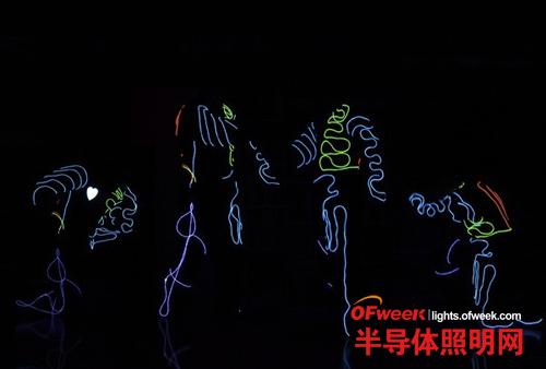电子感光照明LED让你的服装大放异彩