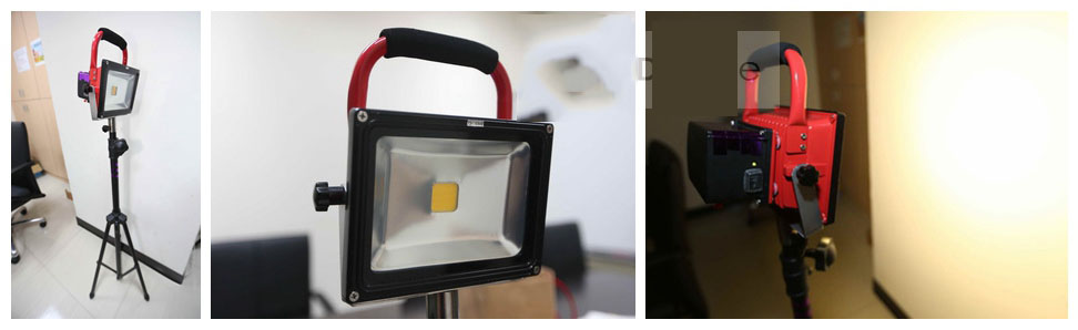 消防救灾新利器可充电LED探照灯
