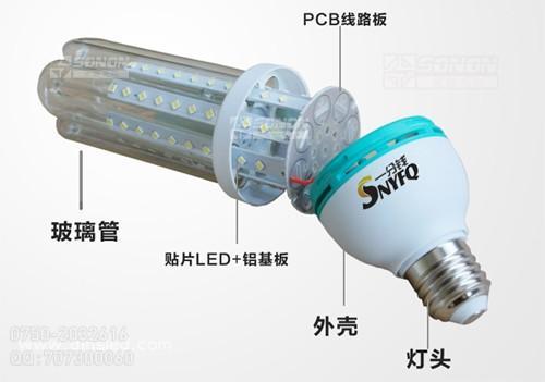 LED节能灯的核心元件与组装工艺流程