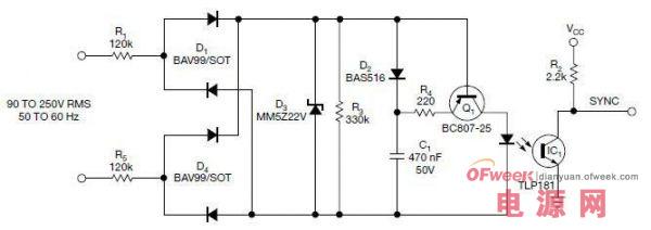 电路分析:交流电源的零交越脉冲电源电路设计