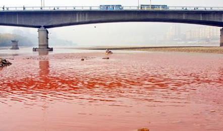 甘肃水功能区污染
