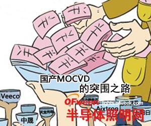 "LED""外来和尚""垄断 中国企业""抢攻""MOCVD市场"