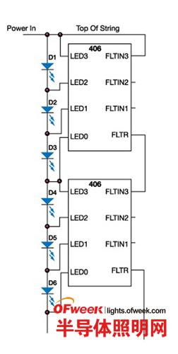 图3    基于ic的级联电流故障检测/报告机制