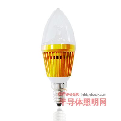 比亚迪照明最新产品LED蜡烛灯全面测评