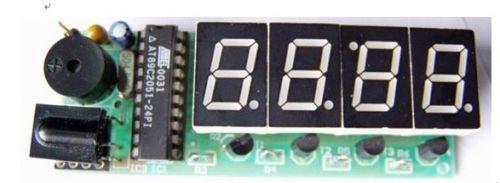 基于AT89C2051的红外遥控LED电子钟设计