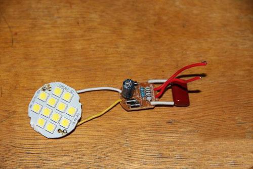 【小拆解】坏掉的LED蜡烛灯