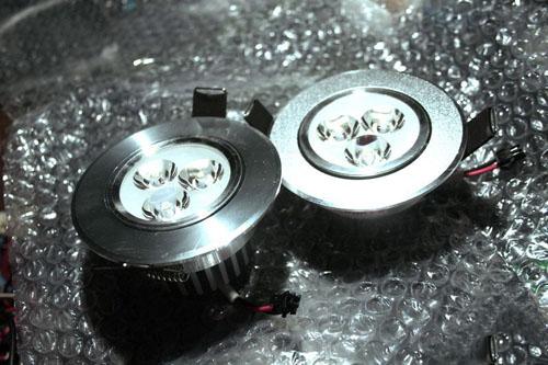 """【拆】两款3W LED射灯""""豪华""""PK""""普通"""""""
