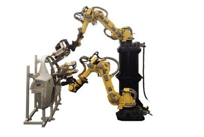 就像发那科机器人的视觉系统,传感器系统等,有了这些专用技术,才能