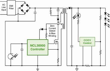 离线高功率因数TRIAC调光LED照明驱动器设计