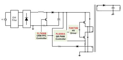 准谐振反激变换器为LED路灯照明的解决方案
