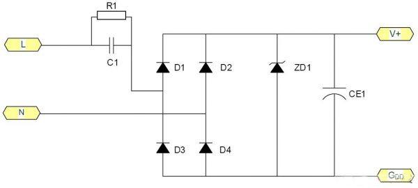 非隔离线路在LED驱动电源上 有哪些常见应用?