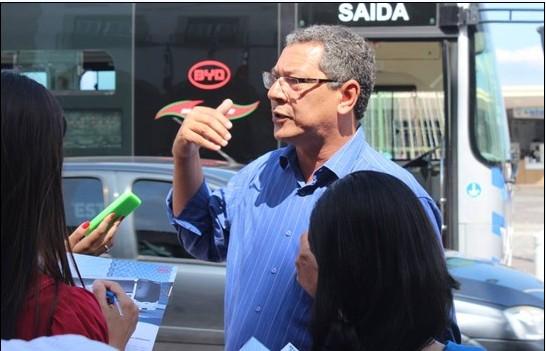 萨尔瓦多市环境与持续发展署秘书长IvanilsonGomes先生