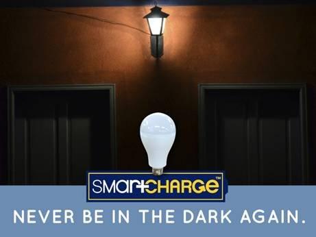 """""""不怕停电""""的智能LED灯泡 内置储备电池"""