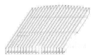 散热器 led 路灯 自然/图9 散热器新结构示意图...