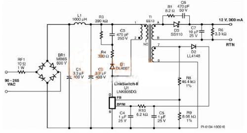 电路 电路图 电子 原理图 500_271
