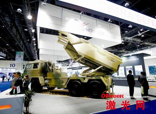 中国展出的SR-5型远程火箭炮