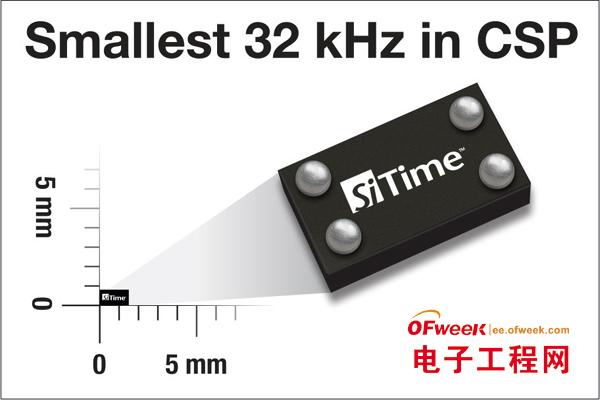 32kHzMEMS振荡器芯片级封装