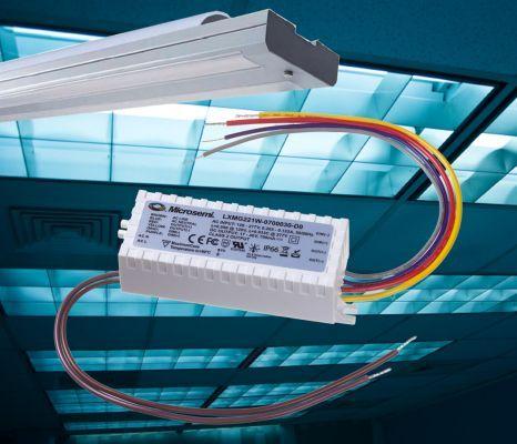 美高森美推出用于LED照明灯具的超快速启动驱动器