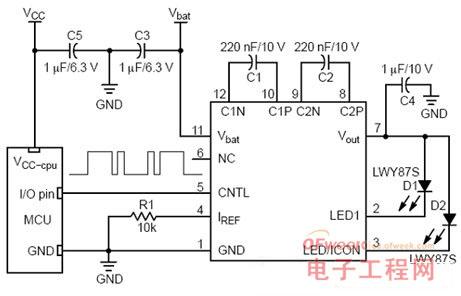 小型LCD背光的LED驱动电路设计