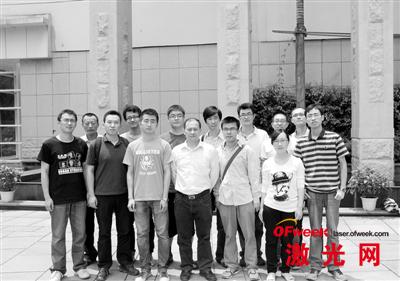 曹永革和他的科研团队