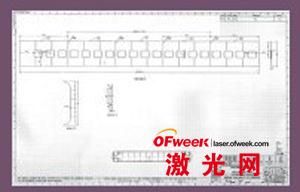 印度铁路公司车厢侧壁的典型结构图