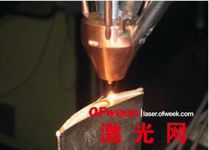 激光熔覆技术应用于修整叶尖
