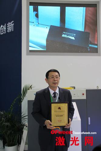 武汉锐科光纤激光器技术有限责任公司总经理兼技术总监闫大鹏
