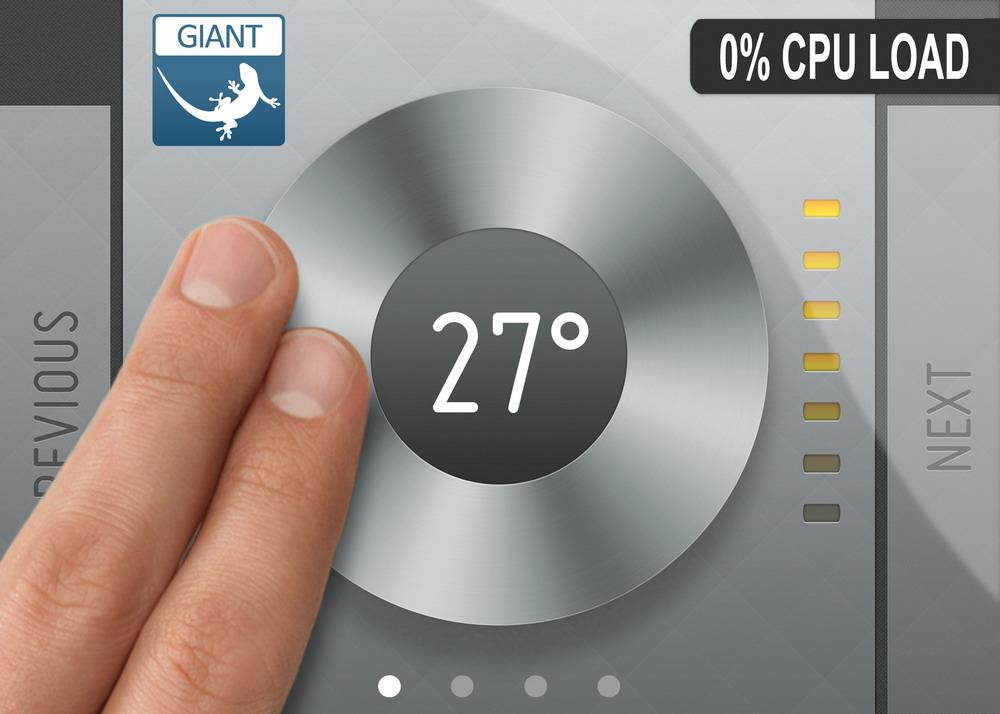 Energy Micro为低功耗MCU应用提供高端触摸图形解决方案